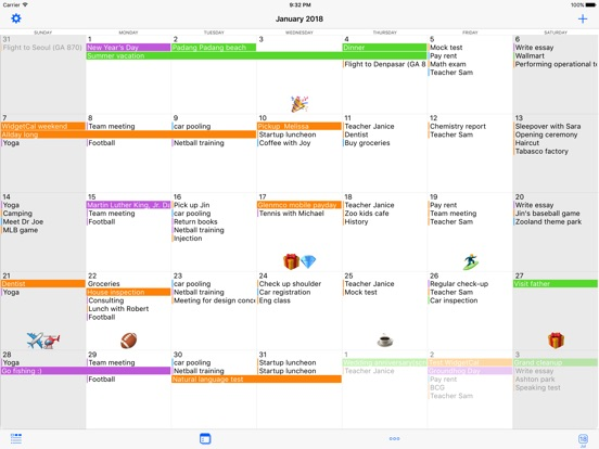 Pocketlife Calendar Review  Widgetcal Calendar Widget On The App Store