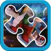 Chaipat Trong - 子供のための小さな人間の青2のジグソーパズルゲーム アートワーク