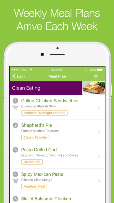 eMeals - Healthy Meal Plans on the App Store - healthy meal plan