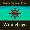 Ramanand Chary - Lake Winnebago (Wisconsin) – Nautical Charts アートワーク