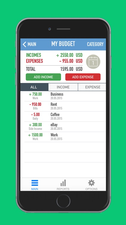 Money Tree Simple Budget Tool - Personal Income and Expenses - budget log