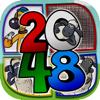 "Panita Senkaew - 2048 + UNDO Number Puzzles Games "" Shaun the Sheep Edition "" アートワーク"