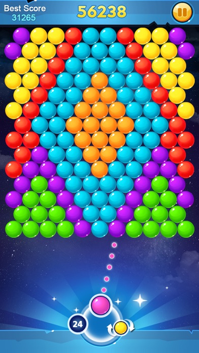 App Screen Bubble Shooter Classic - Fun Pop Bubble Games App Download
