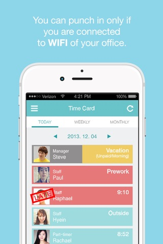 Download Hello Office Employee Work Schedule  Attendance Tracker
