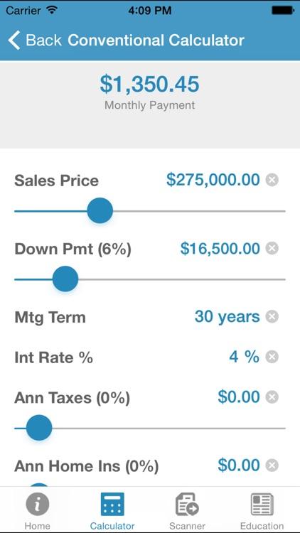 Mortgage Calculator by Robert Nunez by SimpleNexus