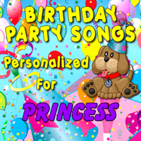 Happy Birthday to Princess (Princesse) Personalized Kid Music