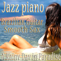 Shimmer of Mystery The Jazz Piano Brazilian Guitar Smooth Sax Quartet.