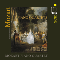 Piano Quartet in E-Flat Major, K. 493: III. Allegretto Mozart Piano Quartet MP3