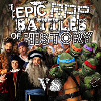 Artists vs Turtles Epic Rap Battles of History