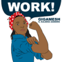 Free Download Gigamesh Work! (feat. Kaleena Zanders) Mp3