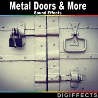 Metallic Door Version 2 Digiffects Sound Effects Library MP3