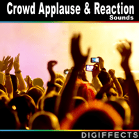 35,000 People Applause Digiffects Sound Effects Library