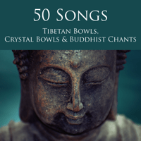 Monks Chanting Om and Crystal Wind Bells Tibetan Singing Bells Monks