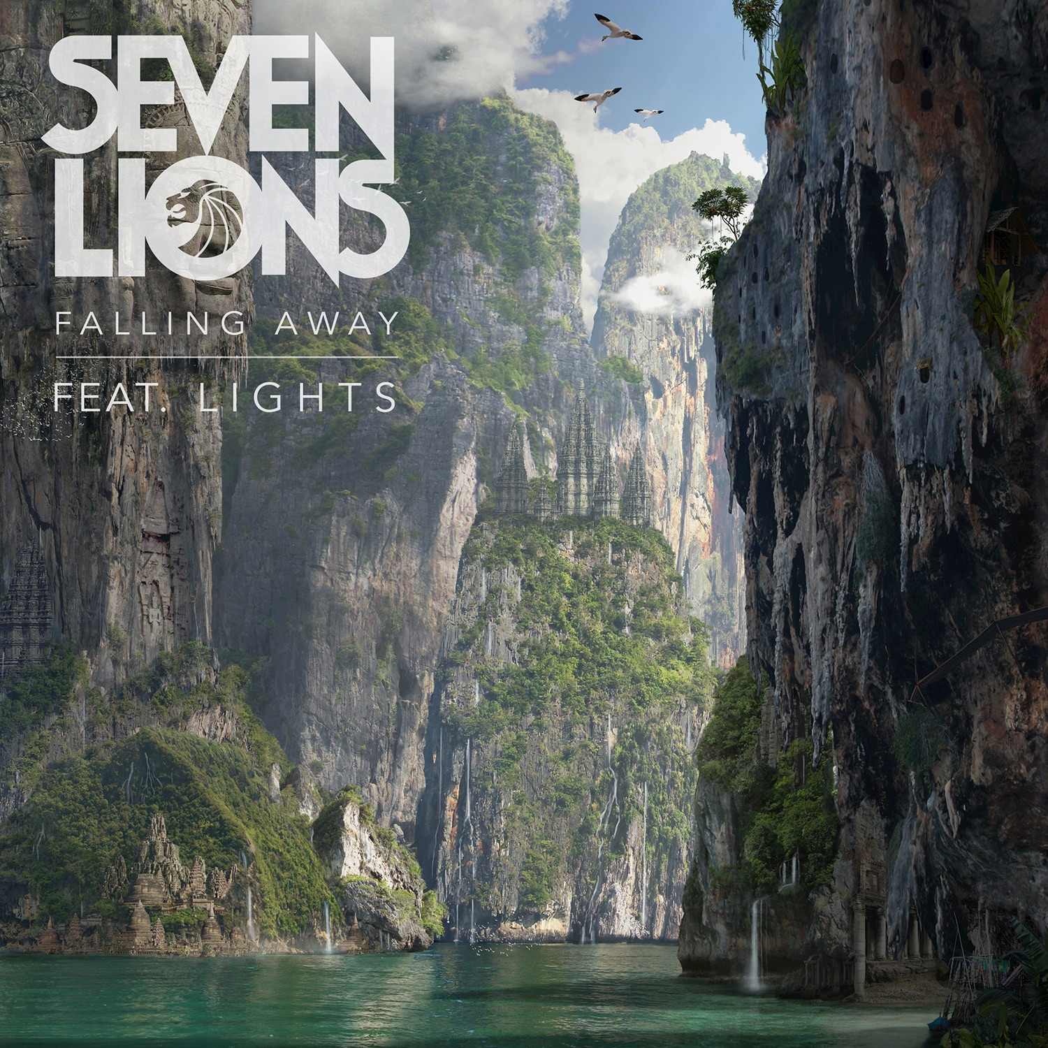 Fall In Love With Me Wallpaper Falling Away Feat Lights Single By Seven Lions On Itunes
