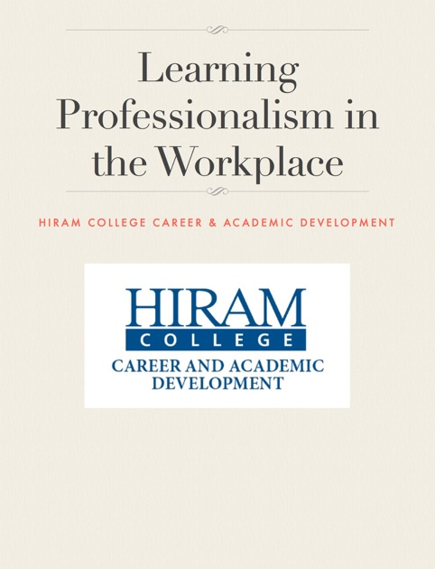 Learning Professionalism in the Workplace by Heather Balas on Apple