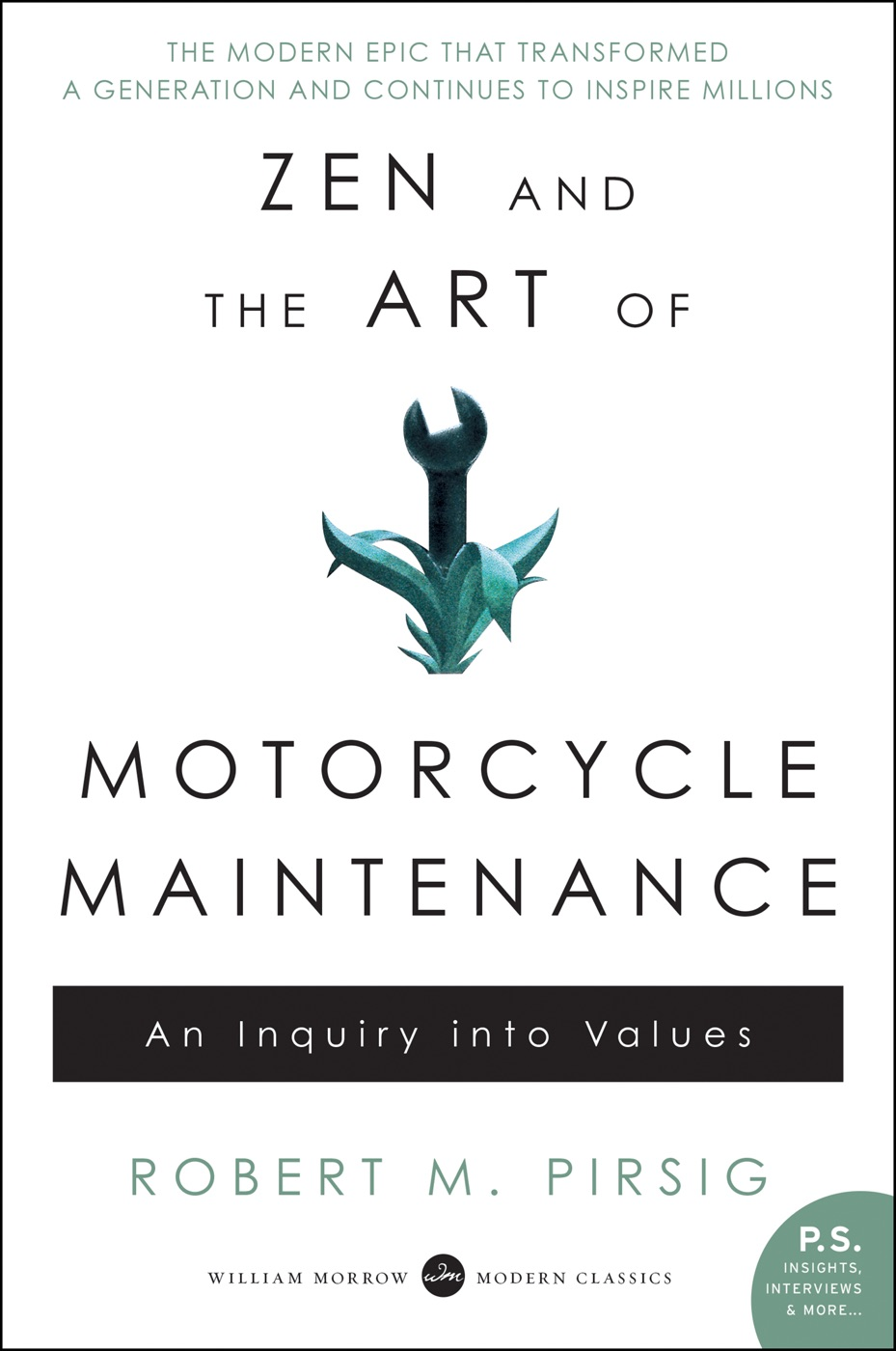 Zen Arte Della Motocicletta Zen And The Art Of Motorcycle Maintenance Robert M Pirsig