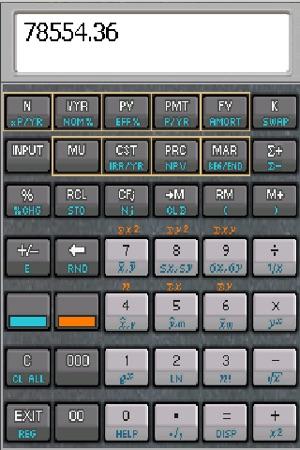 MxCalc 10B - Business Financial Calculator on the App Store - financial calculator