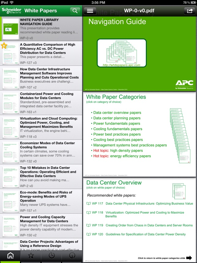 Schneider Electric White Papers on the App Store - White Paper Pdf