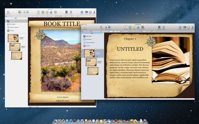 Templates for iBooks Author on the Mac App Store