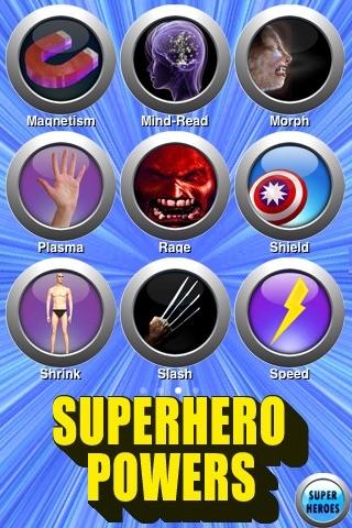 Superhero Powers - AppRecs
