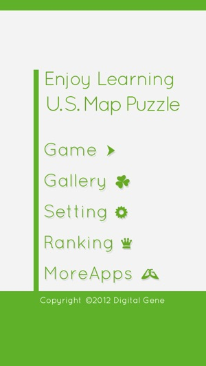 Enjoy Learning US Map Puzzle on the App Store - fillable us map
