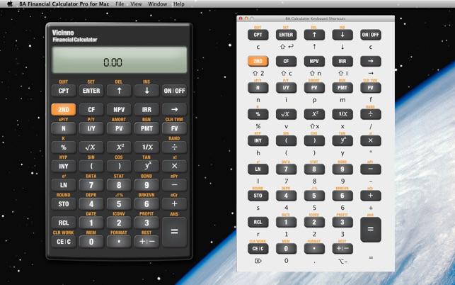 BA Financial Calculator Pro for Mac on the Mac App Store - financial calculator