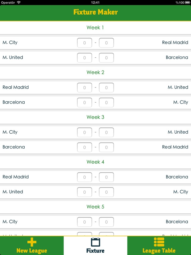 Fixture Maker on the App Store