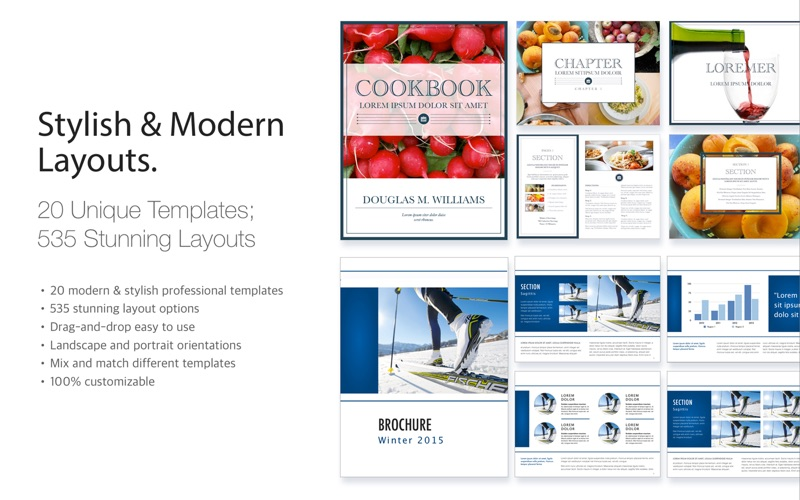 Template Bundle for iBooks Author App Price Drops