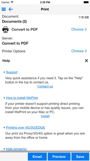 PrintDirect for iPhone on the App Store