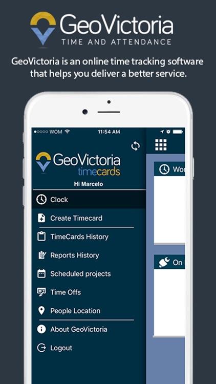 GeoVictoria TimeCards by Victoria SA