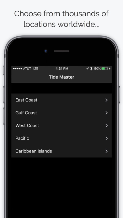 Tide Master - Ocean Tides, Charts, Graphs, Tables by Above Market