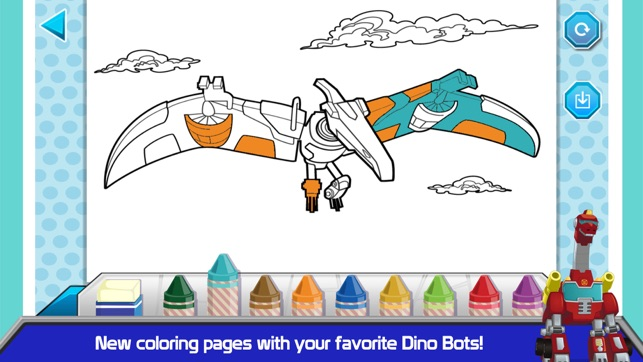 Transformers Rescue Bots Dino Island on the App Store - new coloring pages for rescue bots