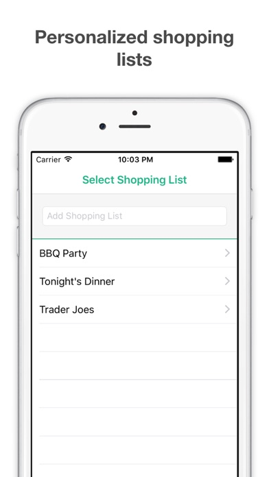 Shopping List  Grocery List App Price Drops - Shopping List And Prices