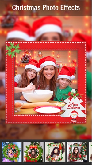 Christmas Camera+ App On IOS/Android - Xmas Picture Frames For Live