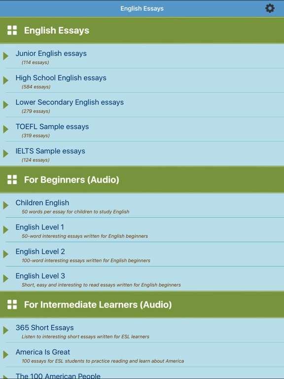 Learn English Essays App Price Drops
