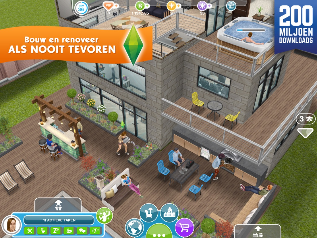 Verdieping Sims Freeplay De Sims Freeplay App Voor Iphone Ipad En Ipod Touch Appwereld