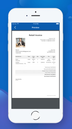 Quick Invoice Maker on the App Store - quick invoices
