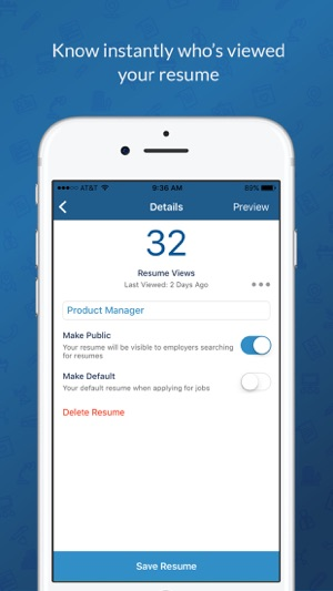 CareerBuilder Job Search on the App Store - careerbuilder resume search