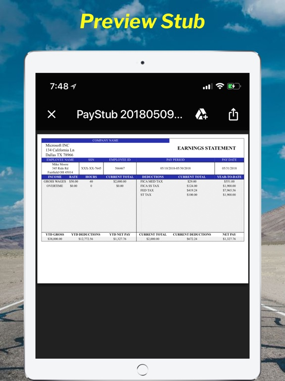 Paystub Calculator Maker Pro App Price Drops