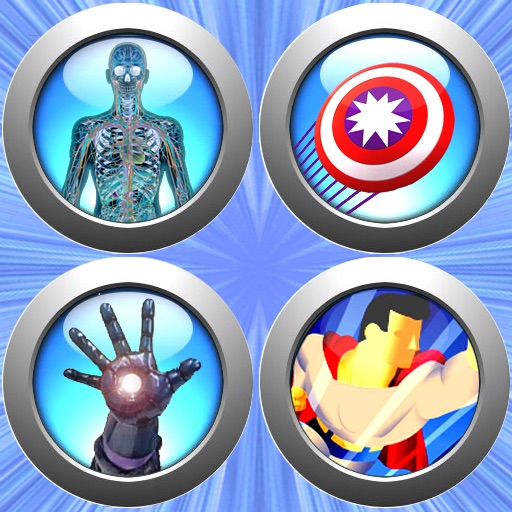 Superhero Powers by Fox Dragon Design