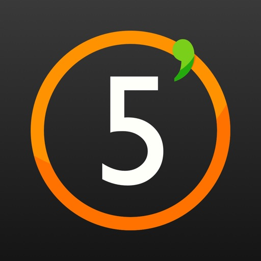 5 minutes countdown timer by Marc Boeren
