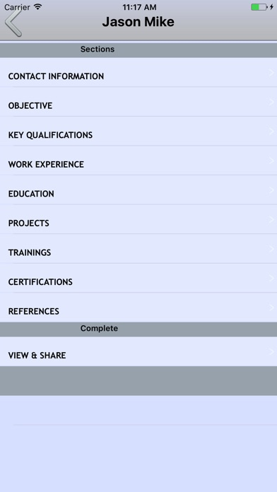 Resume Builder Cv Maker - App - Mobile Apps