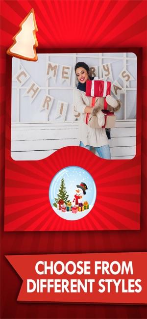 Christmas photos frame editor on the App Store