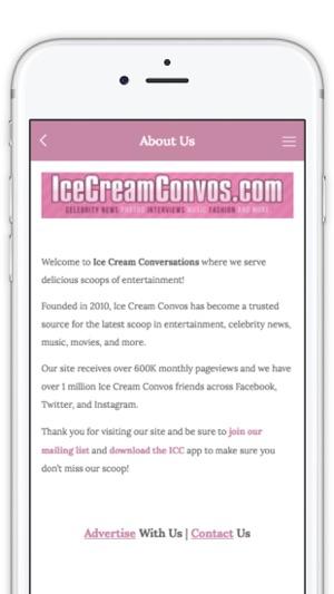 Ice Cream Convos on the App Store