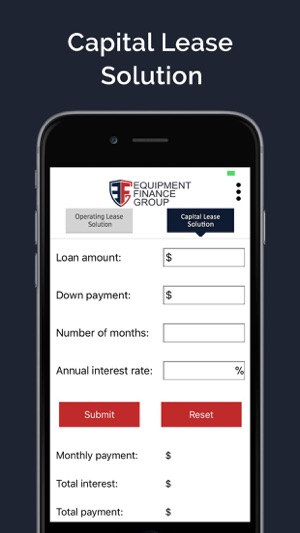 EFG Lease Calculator on the App Store