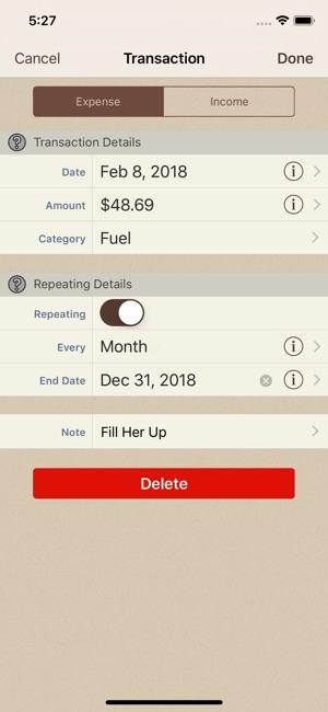 Spending Tracker on the App Store