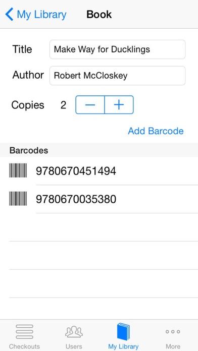 Classroom Checkout - AppRecs - checkout a book