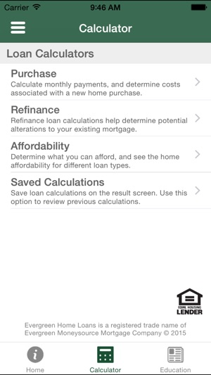 Evergreen Home Loan on the App Store