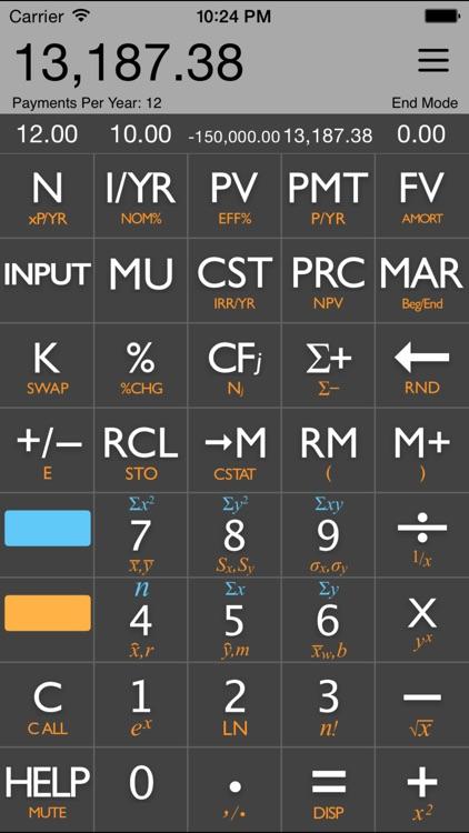 10bii Financial Calculator by K2 Cashflow, Inc - financial calculator