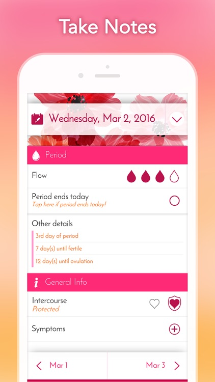 My Calendar - Period Tracker by Emily Powell